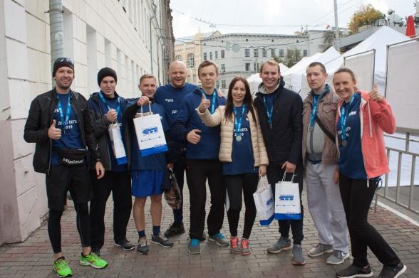 Объединенная команда ВТБ и Саровбизнесбанка стала бронзовым призером корпоративного забега